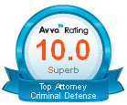 Avvo 10.0 Criminal Defense